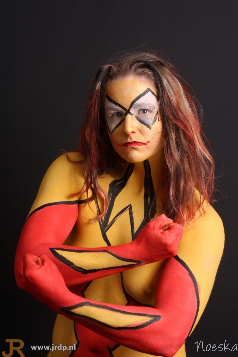 Yellow Spiderwoman